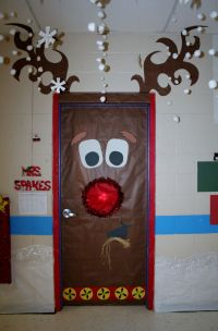 25+ Best Ideas about Christmas Door Decorations on