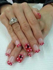 ideas disney nail