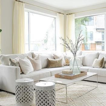 25+ best ideas about White Sectional on Pinterest