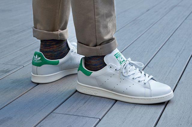 adidas cloudfoam advantage green