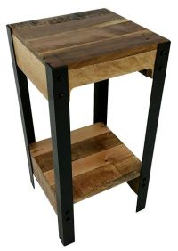 25+ best ideas about Rustic side table on Pinterest | Diy ...