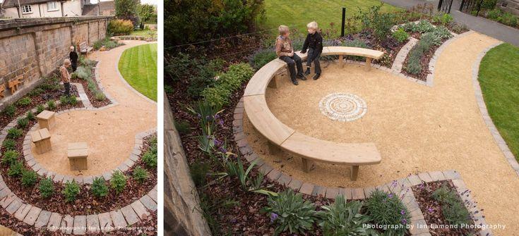 Seating Area For Garden Plan School Garden Ideas Pinterest