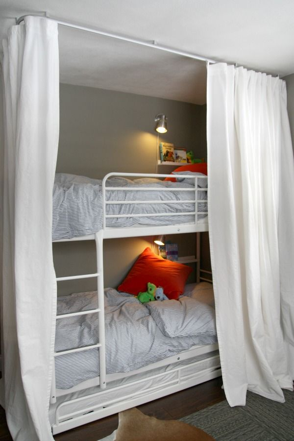 Best 25 Bunk Bed Shelf Ideas On Pinterest Bunk Bed Decor Loft Bed Decorating Ideas And