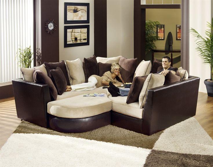 harper fabric 6 piece modular sectional sofa barcelona ottoman 25+ best ideas about on pinterest ...
