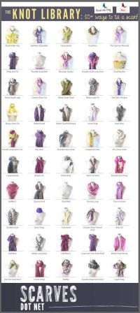 17 Best images about How to tie a scarf on Pinterest ...