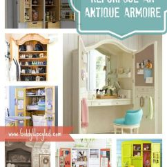 Cheap Ways To Redo Kitchen Cabinets Unique Wall Clocks 1000+ Ideas About Armoire Pantry On Pinterest | ...