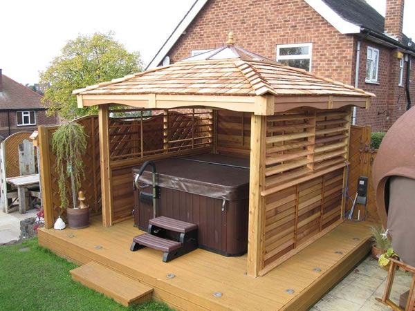 The 25 Best Ideas About Hot Tub Garden On Pinterest Hot Tub