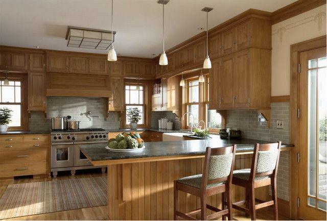 kitchen backsplash trim ideas spray head faucet ending with uneven upper/lower cabinets ...