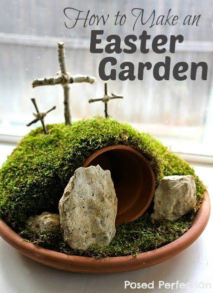 25 Best Ideas About Easter Garden On Pinterest Jesus Tomb Found