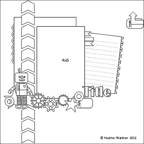 1000+ images about Scrapbooking/Printables-Sketches on