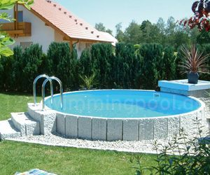 Stahlwand Rundpool Swimmingpool So Einfach Konnen Sie Ihren Swimmingpool Selbst Bauen