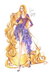 fashion rapunzel