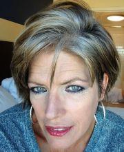 robin jane pond silver hair transition