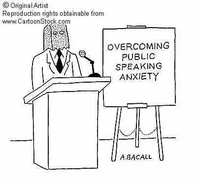 Overcoming public speaking anxiety #publicspeakinganxiety