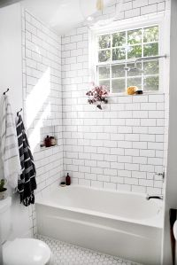 25+ best ideas about White Subway Tile Bathroom on