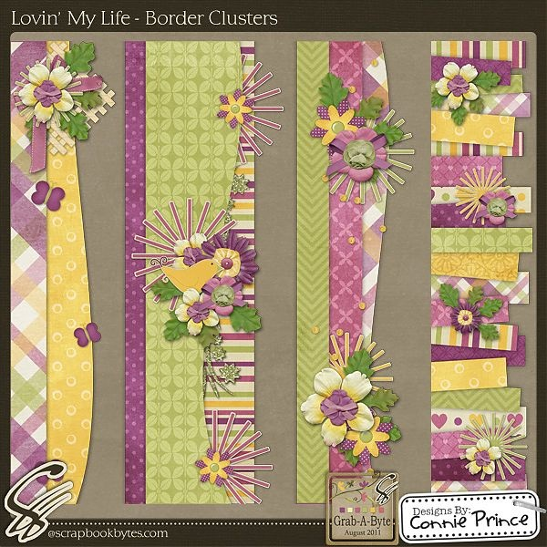 Cute Collage Wallpaper Border Cluster Scrapbook Therapy Pinterest