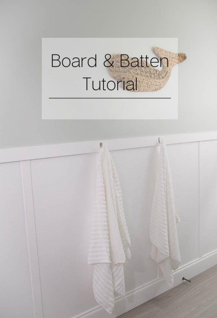 DIY Board and Batten Tutorial