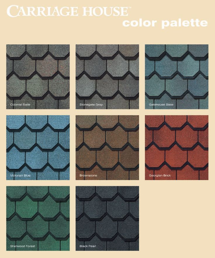 Sidebyside color options for Carriage House compare