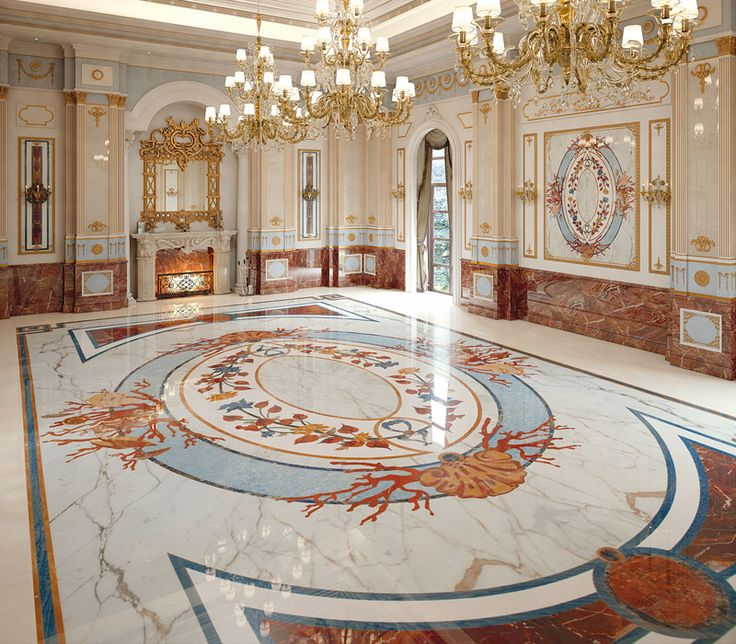 Classic Interiors  Luxury  Budri  Italian Marble Inlay