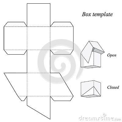 Best 25+ Paper box template ideas on Pinterest