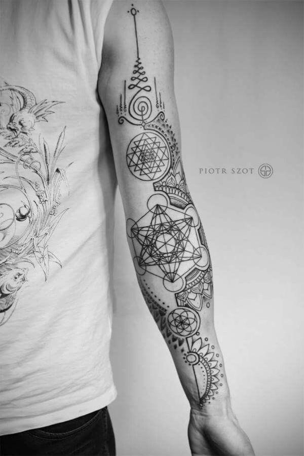 ideas geometric tattoos