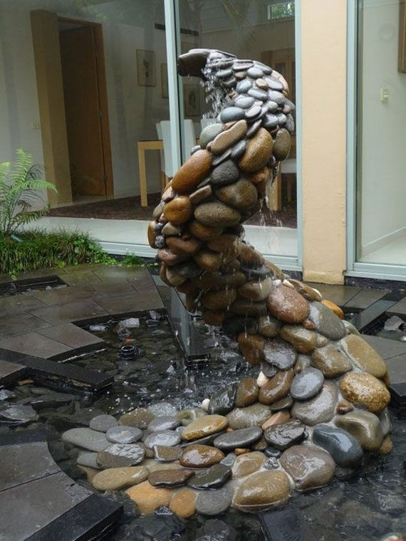 38 Best Images About Landscape Water Features On Pinterest
