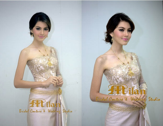 Gorgeous Milan Bridal In Thailand Gold Traditional Thai