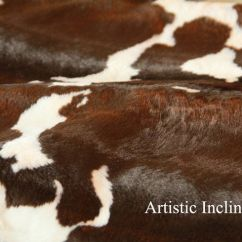 Accent Living Room Chairs With Arms Pride Riser Recliner Chair 1 Yard Of Faux Cow Hide Fabric In Brown And White, Great For Newborn Baby Photo Prop, Posing ...