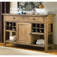 Buffet Cabinet With Wine Rack - WoodWorking Projects & Plans