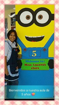 25+ best ideas about Minion door decorations on Pinterest