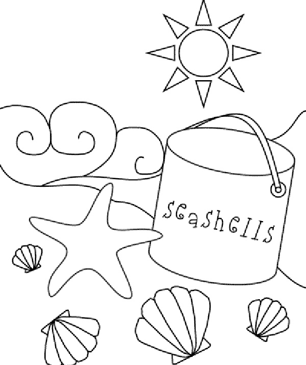 25+ best ideas about Beach coloring pages on Pinterest