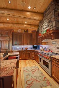 17+ best ideas about Log Cabin Kitchens on Pinterest ...