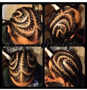 men cornrows