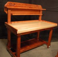 Wooden Reloading Bench
