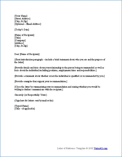 25 best ideas about Professional reference letter on Pinterest