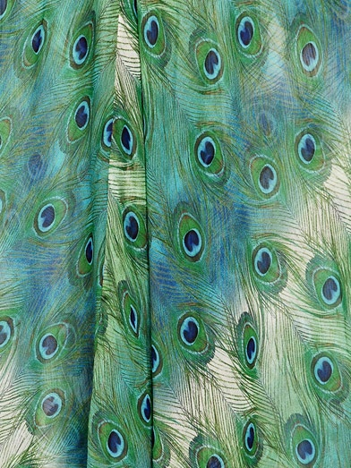 Peacocks Curtains and Peacock feathers on Pinterest