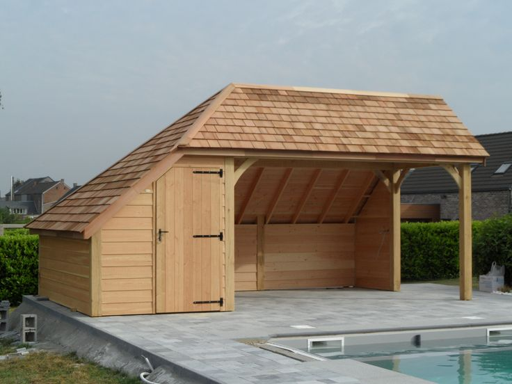 Lelaboration Dabris A Piscine Sur Mesure Ou Cabane De Jardin Design Prend