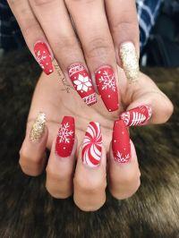17 Best ideas about Christmas Nail Art on Pinterest ...