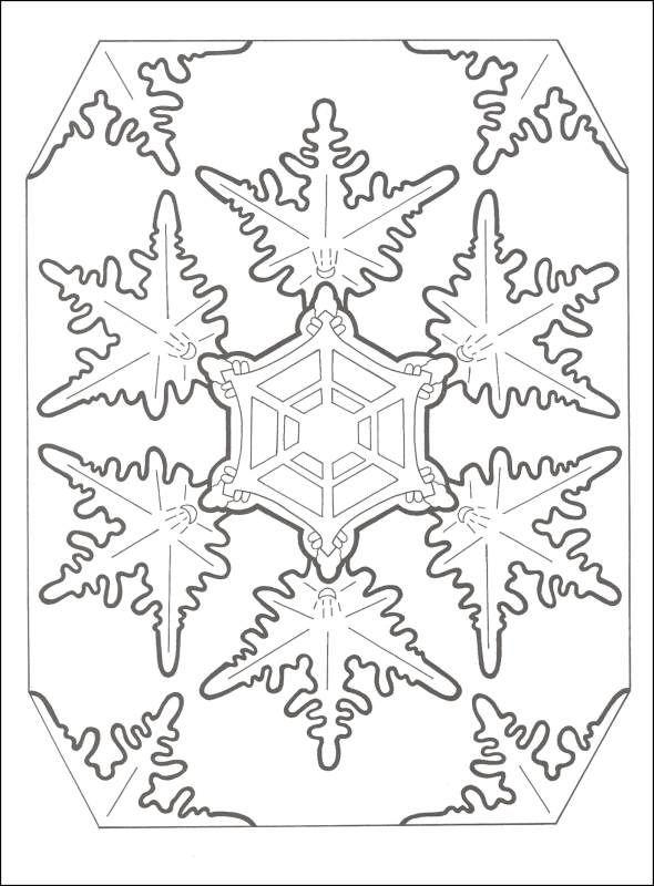 Snowflake designs, Mandala coloring pages and Snowflakes