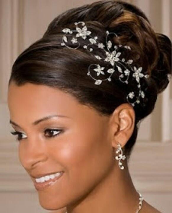 Wedding Updo  with Jeweled Hair Piece  Wedding 9 14 13