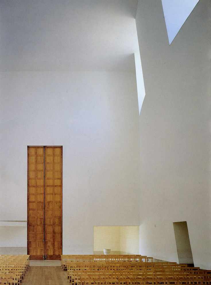 Santa Maria Church  Alvaro Siza Marco de Canavezes Portugal 1999  Church Architecture since