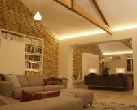 Interior pitched ceiling lighting | The Lighting Design ...