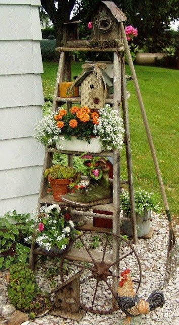 25 best ideas about garden decorations on pinterest diy garden