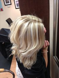 Cool blonde with lowlights   Hair Styles   Pinterest ...