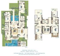 Luxury floor plans, Villas and Floor plans on Pinterest
