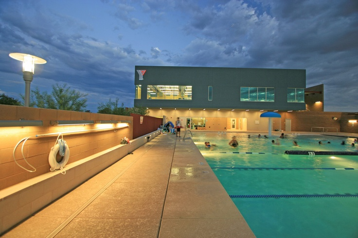 I love my Y Ross Farnsworth YMCA in Mesa AZ Architekton