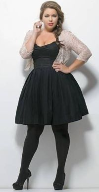 25+ best ideas about Plus Size Black Dresses on Pinterest ...