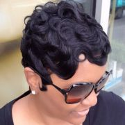 finger waves making