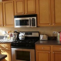 Refinishing Oak Kitchen Cabinets Red Clock Pinstripe Glazed Cabinets. A Quick Easy Way To ...