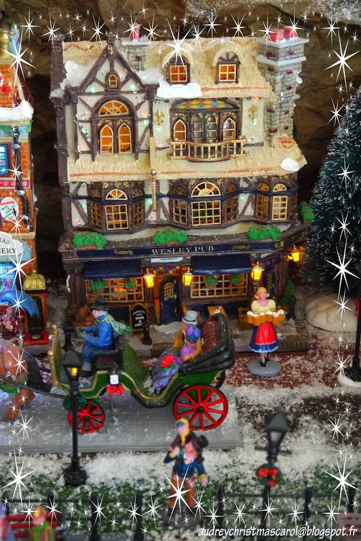 Lemax Christmas Village 2014 The Wesley Pub Visit Our